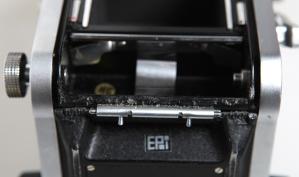 Film door hinge clips.